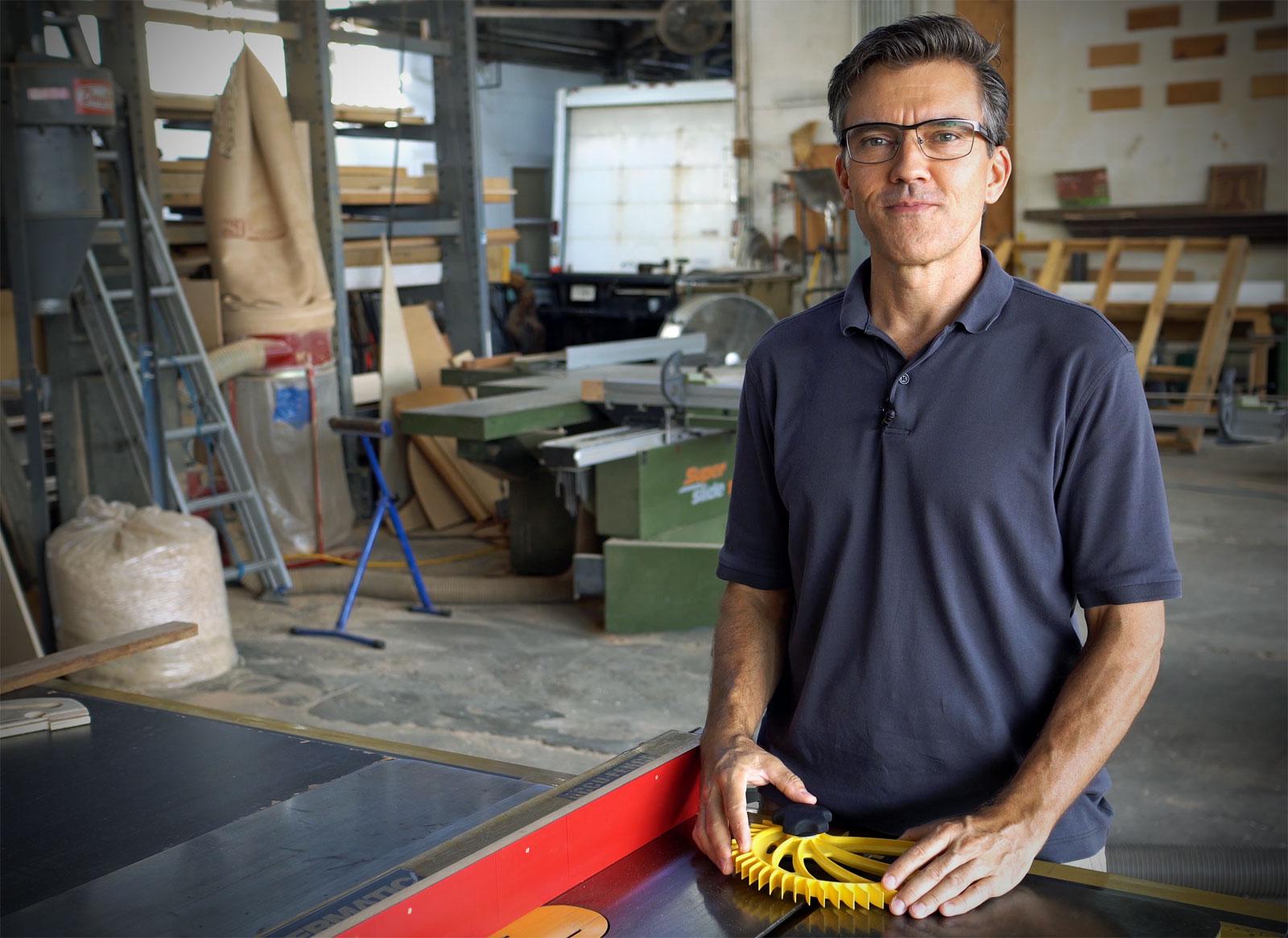Brett Burdick Hedgehog designer inventor