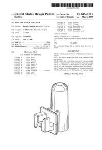 Patent Electric Fence Insulator