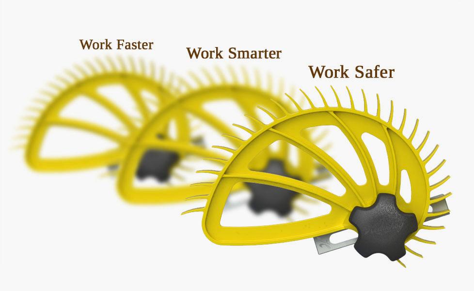 Hedgehog spiral featherboard work faster smarter safer