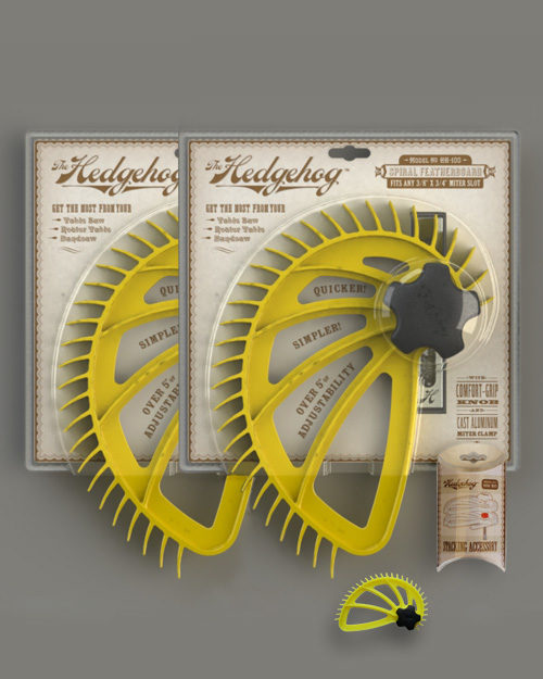 Hedgehog featherboard package deal free stacking accessory and magenet