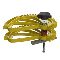 Hedgehog stacking accessory exploded view