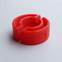 Hedgehog stacking accessory locking ring view 2