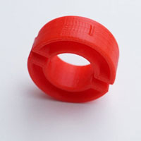 Hedgehog stacking accessory locking ring