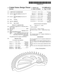 Hedgehog featherboard design patent