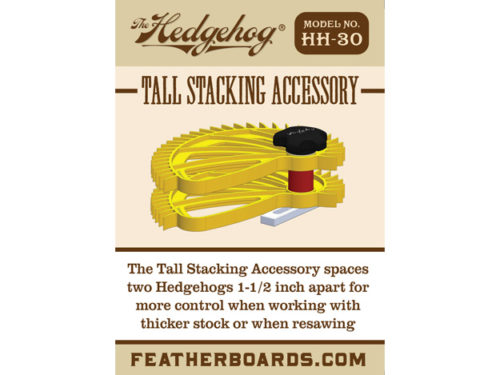 HH-30 tall stacking accessory printed insert
